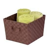 Honey-Can-Do Woven Task-It Basket - Lg Brn