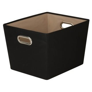 Honey-Can-Do Medium Storage Bin - Black