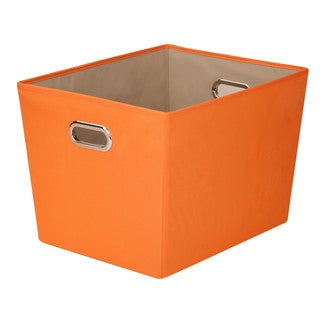 Lg Storage Bin w/ handle - Org