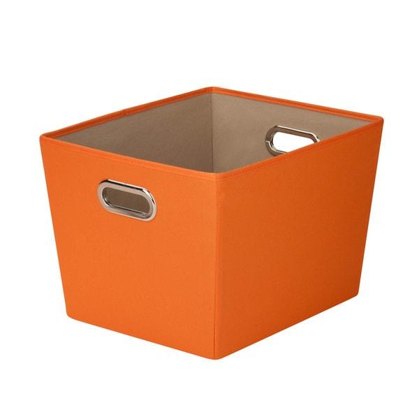 Beau Honey Can Do Medium Storage Bin   Orange
