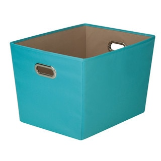 Lg Storage Bin w/handle - Aqua