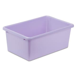 Plastic Bin-Small Light Purple
