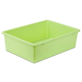 Plastic Bin-Large Light Green