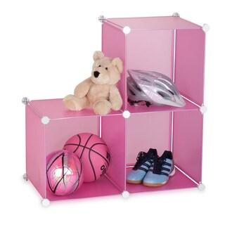Storage Cubes- set of 3- pink (Option: Pink)