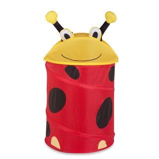Honey-Can-Do Lady Bug Pop-up Hamper - Small