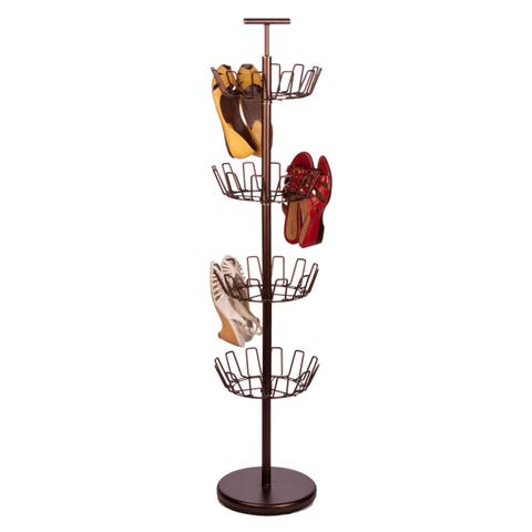 Honey-Can-Do 4-Tier Bronze Shoe Tree