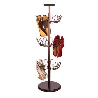 Honey-Can-Do 3 Tier Bronze Shoe Tree