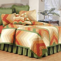 Chevron Nature Quilt or Sham