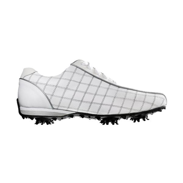FootJoy 97199 White/ Black Women's LoPro Golf Shoes