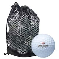 Bridgestone Assorted Recycled Golf Balls with Red Mesh Bag (Pack of 100)