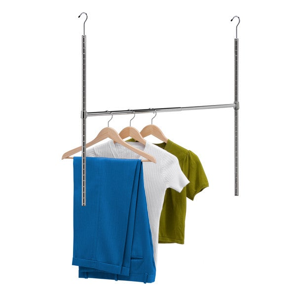 Honey-Can-Do HNG-01816 Adjustable Hanging Closet Rod
