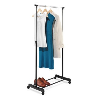 Honey-Can-Do GAR-01122 Adjustable Height Garment Rack