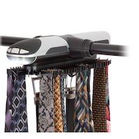 Shop Rotating Tie Rack With Battery Powered Light Free Shipping On