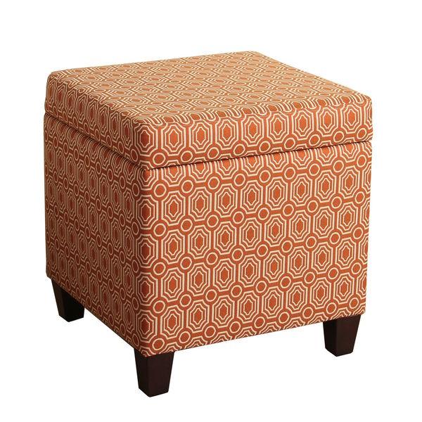 HomePop Fashion Storage Cube Ottoman - HomePop Fashion Storage Cube Ottoman - Free Shipping Today