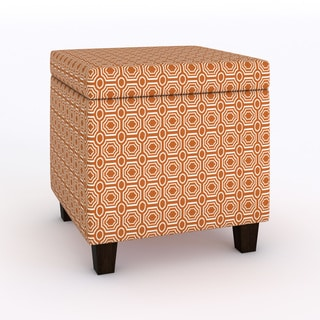 HomePop Fashion Storage Cube Ottoman