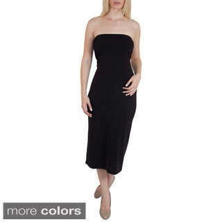 Steven Craig Apparel Women's Pima Cotton 2-in-1 Maxi Dress/ Skirt