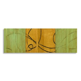 Gallery Direct Benjamin Arnot 'Chi II' Printed on Birchwood Wall Art