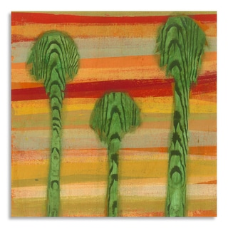 Gallery Direct Jaime Packard 'Impression II' Printed on Birchwood Wall Art
