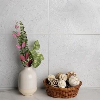 SomerTile 12.5x12.5-inch Casablanca Gris Ceramic Wall Tile (Case of 10)