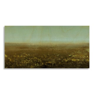 Gallery Direct Sean Jacobs 'On the Wind II' Printed on Birchwood Wall Art