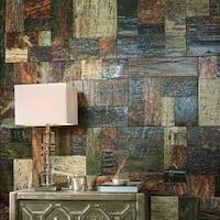 SomerTile 17.375x17.375-inch Pizarra Slate Porcelain Floor and Wall Tile (8 tiles/17.28 sqft.)