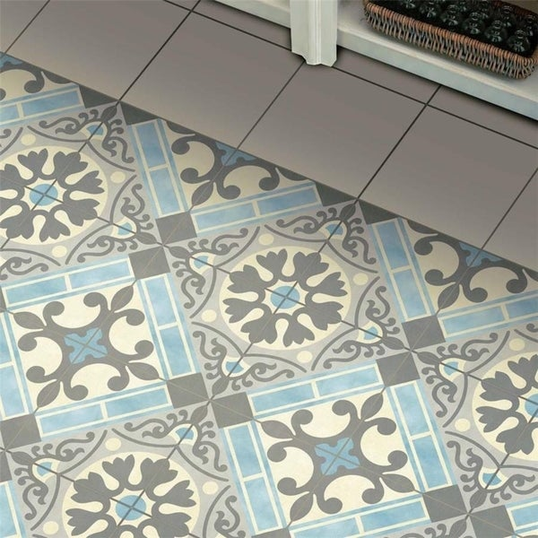 Somertile jive azul ceramic floor and for 13 inch ceramic floor tile