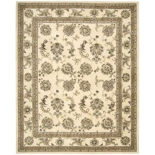 Nourison Silk Touch Ivory Rug (7'9 x 9'9)