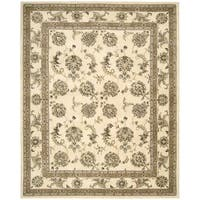 Nourison Silk Touch Ivory Rug - 7'9 x 9'9