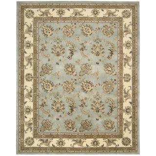 Nourison Silk Touch Blue Rug (7'9 x 9'9)