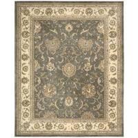 Nourison Silk Touch Grey Rug (5' x 8')