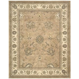 Nourison Silk Touch Camel Rug (5' x 8')