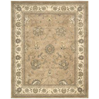 Nourison Silk Touch Camel Rug (5' x 8')