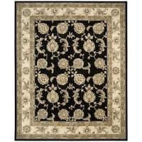 Nourison Silk Touch Black Rug - 7'9 x 9'9'
