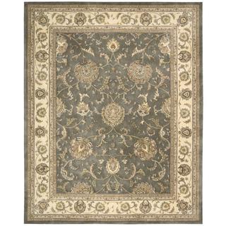 Nourison Silk Touch Grey Rug (7'9 x 9'9)