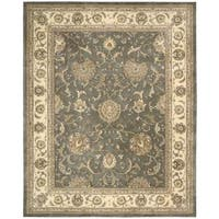 Nourison Silk Touch Grey Rug - 7'9 x 9'9