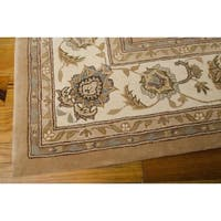 "Nourison Silk Touch Camel Rug - 7'9"" x 9'9"""