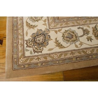 Nourison Silk Touch Camel Rug (7'9 x 9'9)