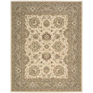 Nourison Silk Touch Ivory Camel Rug (7'9 x 9'9)