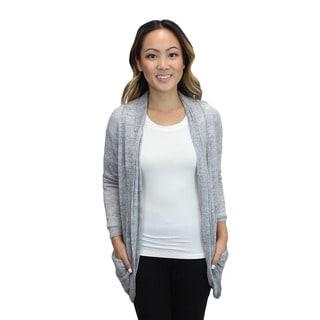 Relished Women's Grey Candace Pocket Cardigan