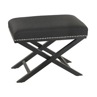 Sterling Black Cross Leg Bench