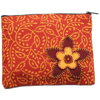 Rust Booti Coin Pouch (India)