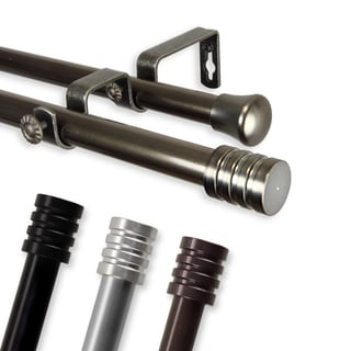 Don Adjustable Double Curtain Rod