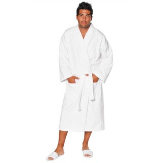 100-percent Pure Turkish Cotton Unisex Terry Velour Kimono Bathrobe