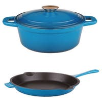 BergHOFF Neo Cast Blue 3-piece Cookware Set