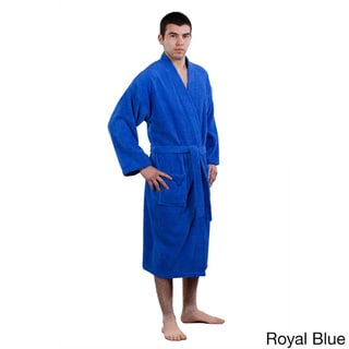 Pure Turkish Cotton Terry Kimono Bathrobe