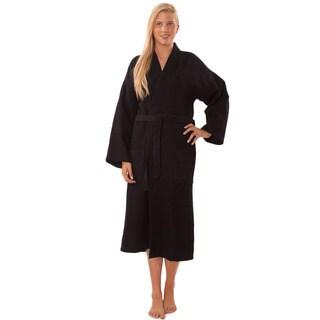Lightweight Waffle Kimono Unisex Spa Robe