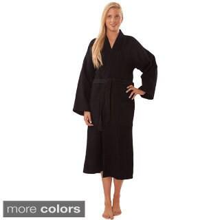 Lightweight Waffle Kimono Unisex Spa Robe|https://ak1.ostkcdn.com/images/products/10521709/P17604948.jpg?_ostk_perf_=percv&impolicy=medium