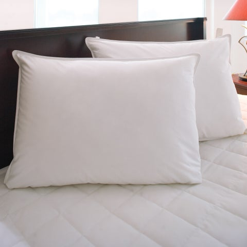 Hotel Resort Hypoallergenic Down Alternative Easy Care Pillow (Set of 2) - White