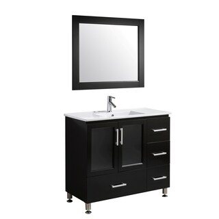 The Stanton 40-inch Single Sink Vanity Set in Espresso Finish