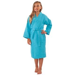 Kids' Kimono Waffle Robes